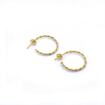 Medium twistede hoops